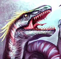 Dinosaur Skin Study by Clearmirror-StillH2O