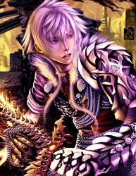 Lance Dauragon by Clearmirror-StillH2O