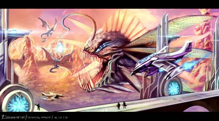Monster angler by Clearmirror-StillH2O