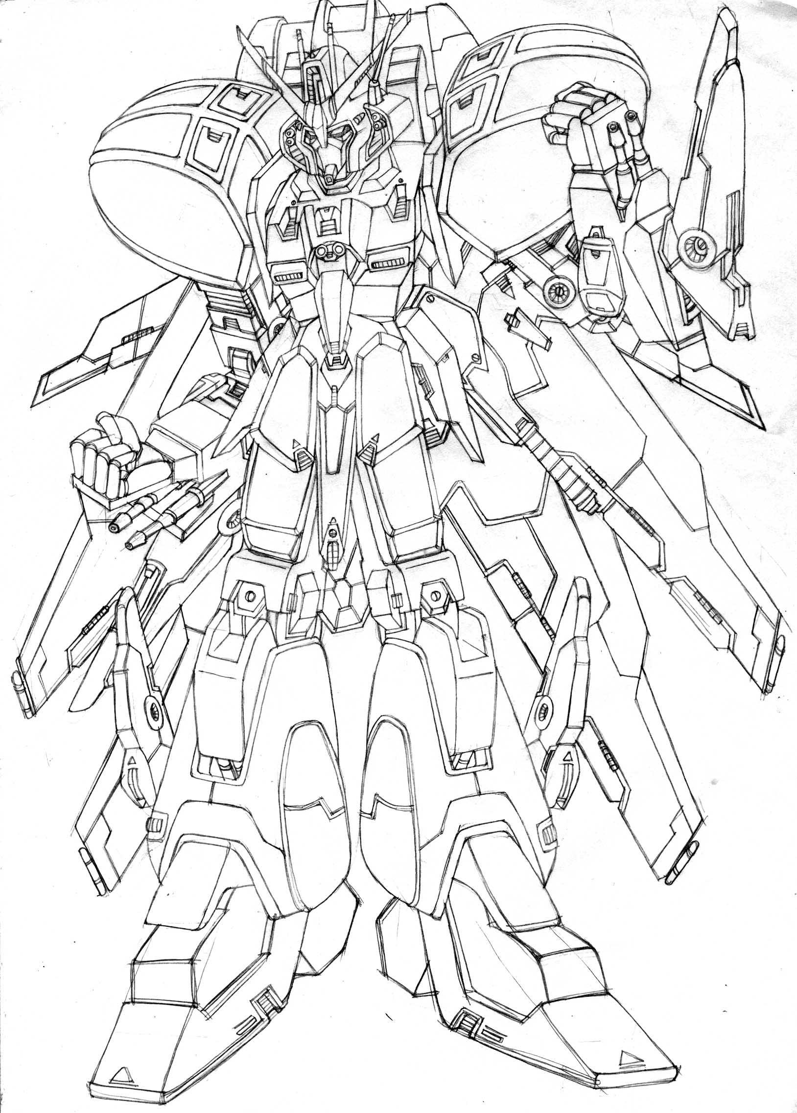 GUNDAM---??? by Clearmirror-StillH2O