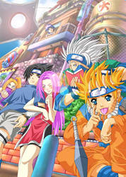 NARUTO and FRIENDS by Clearmirror-StillH2O