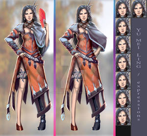 Yu Mei Ling Alt Poses and Expressions