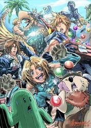 Final fantasy by Clearmirror-StillH2O