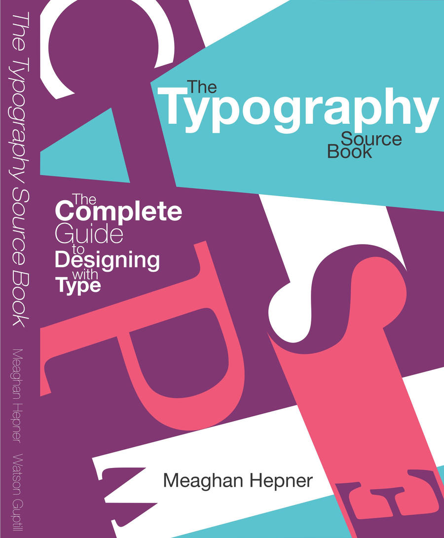 Typographic Book Covers : Typography book cover by furaxxx on deviantart