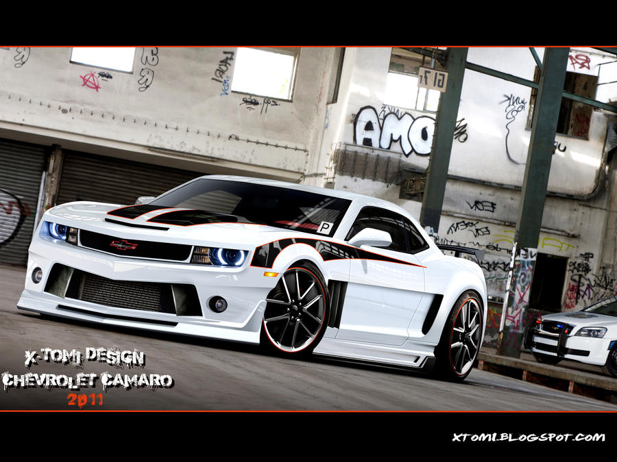Chevrolet Camaro Tuning Mag by x-tomi