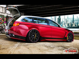 BMW M5 Touring TM Edition by x-tomi