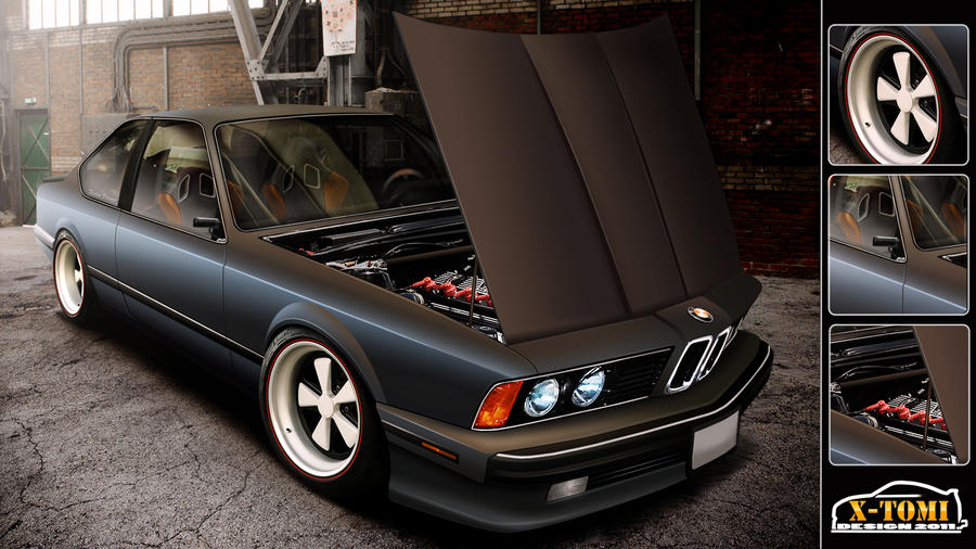BMW 635CSi by x-tomi