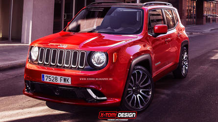 Jeep Renegade SRT8 by x-tomi