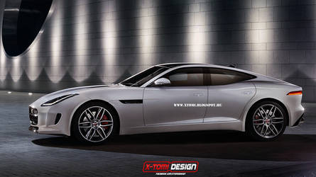 Jaguar F-Type 5door by x-tomi