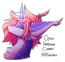 [OPEN] HEADSHOT COMMISSIONS by SINNPLE