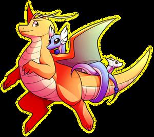 Dratini, Dragonair, Dragonite