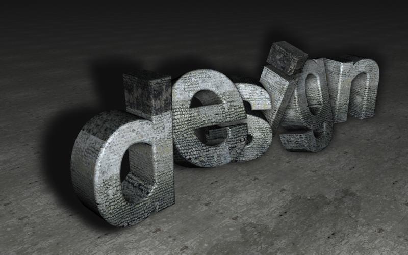 Stone 3d Design