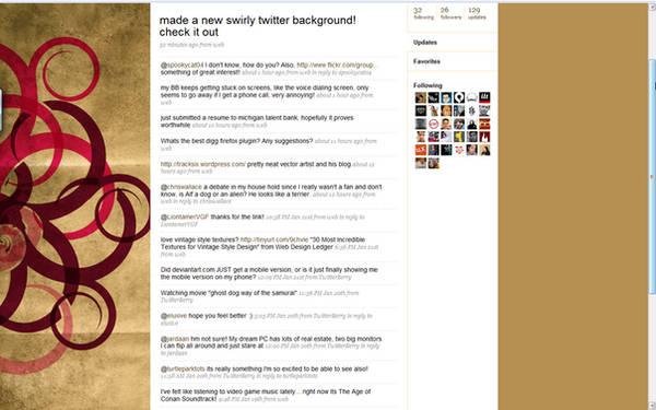 My Twitter Background by Hebbylaya
