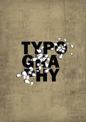 Bored Friday Night Typography by Hebbylaya