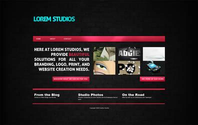studio layout by Hebbylaya
