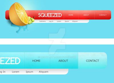 Summer and Fruit Website by Hebbylaya