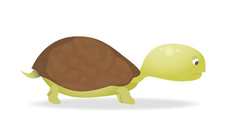 A Sad Turtle by Hebbylaya
