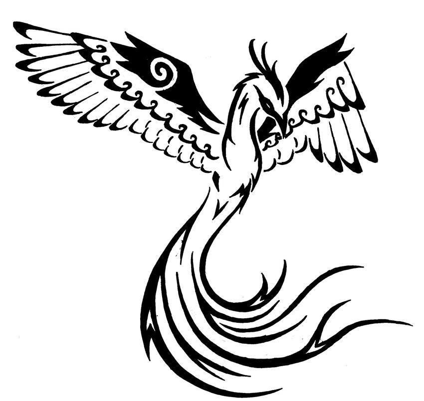 Tribal Phoenix 2 by onlyono on DeviantArt
