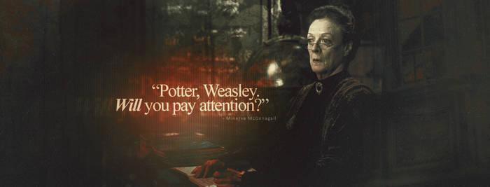 Professor McGonagall by LinhPhobia