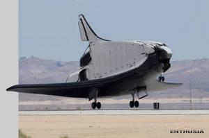 ENTHUSIA space shuttle by NenadGojkovic