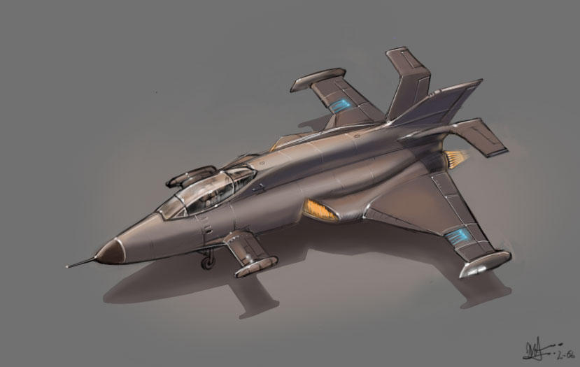 Fighter Plane Design By Pnugget On DeviantArt