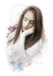 Pensive by SpringDA