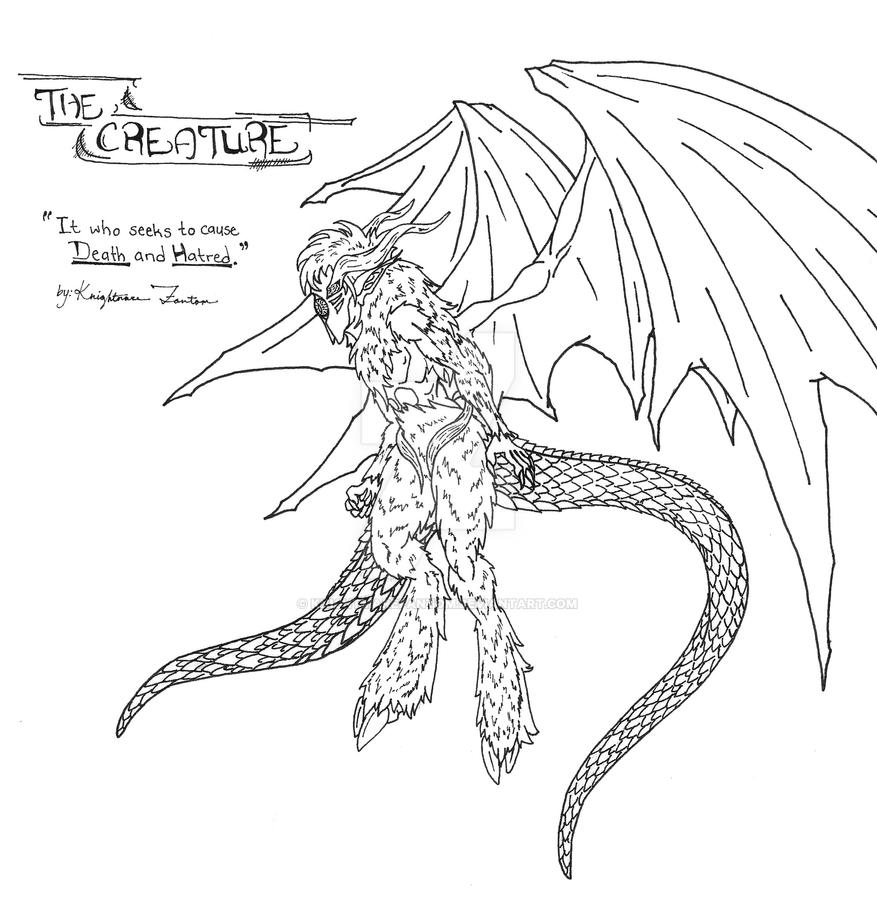 NC: The Creature by KnightmareFantom