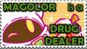 magolor is a drug dealer