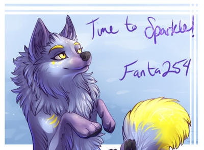 Fanta, Time to Sparkle by silvermoonfox