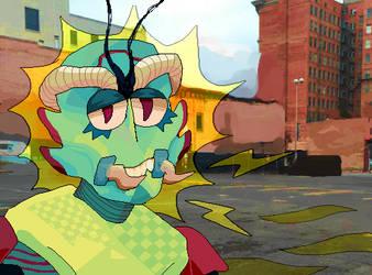 bug boy by uncoolfurry