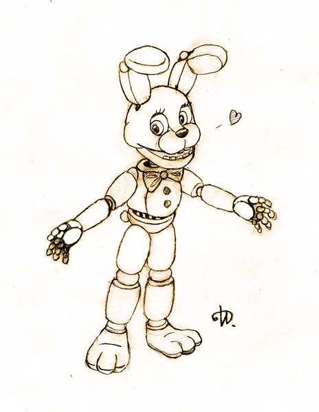 spring_bonnie_sketch_by_kyubi_the_fox-d9