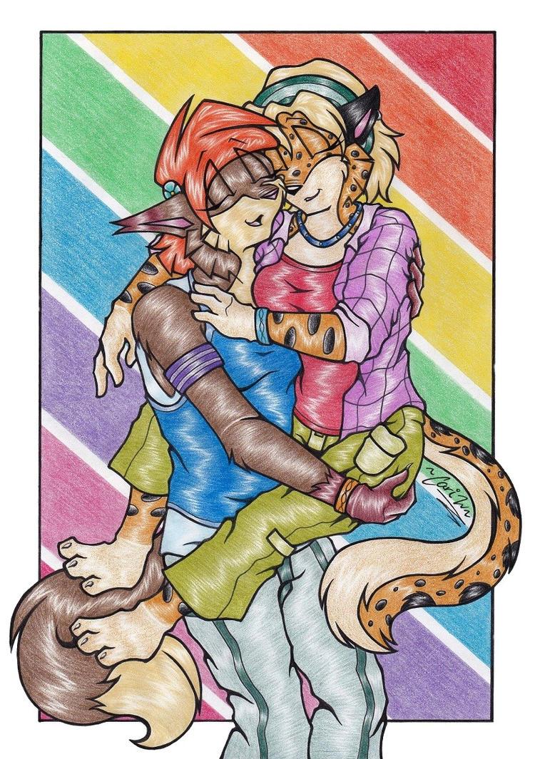 Amber + Eden - Love Wins by BlushBunnyC3