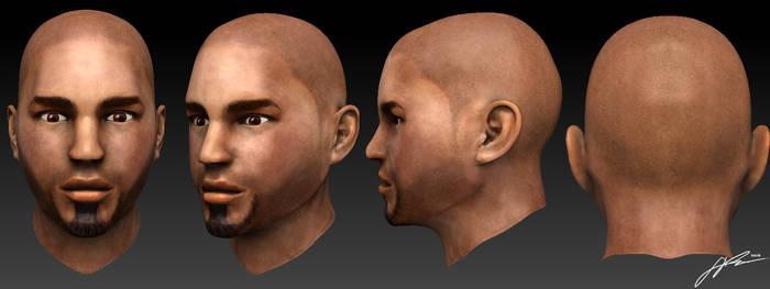 Self Gaming Character Head