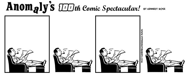 100th Comic Spectacular by Melancton
