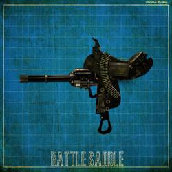 Battle Saddle Blueprint by DirtPoorRiceKing