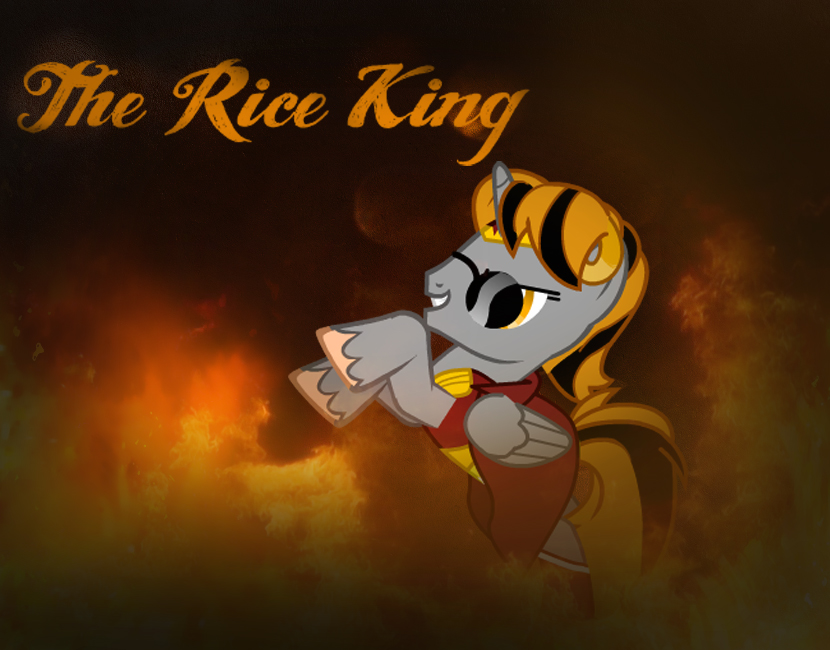 The Rice King OC by DirtPoorRiceKing