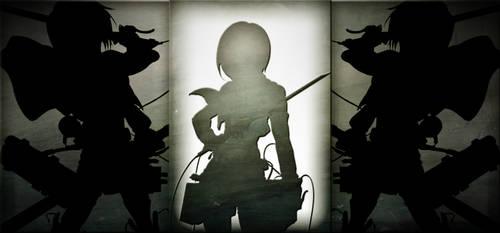 Mikasa Wallpaper by DirtPoorRiceKing