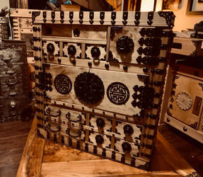 Fully Armored Jewelry Box Tansu Vault