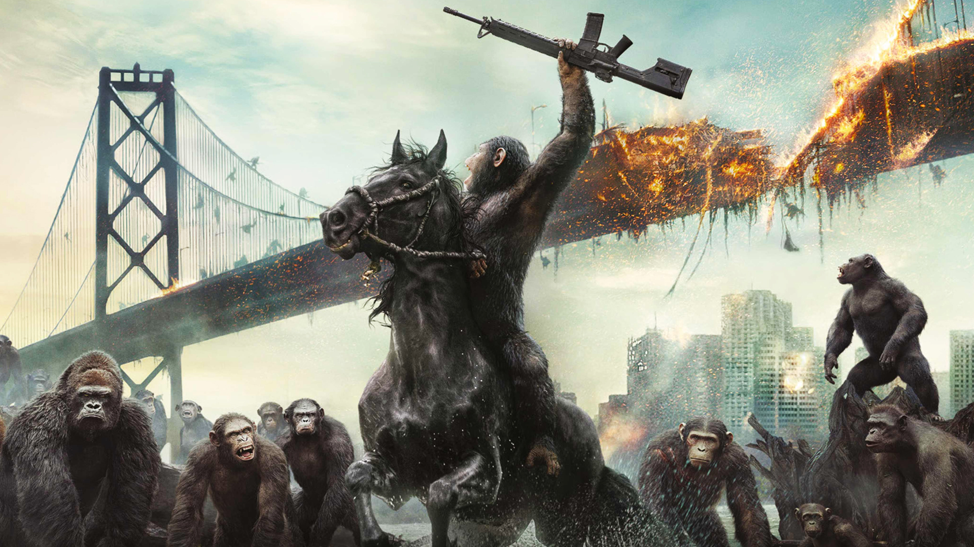 Dawn Of The Planet Of The Apes Wallpaper By Sachso74 On Deviantart