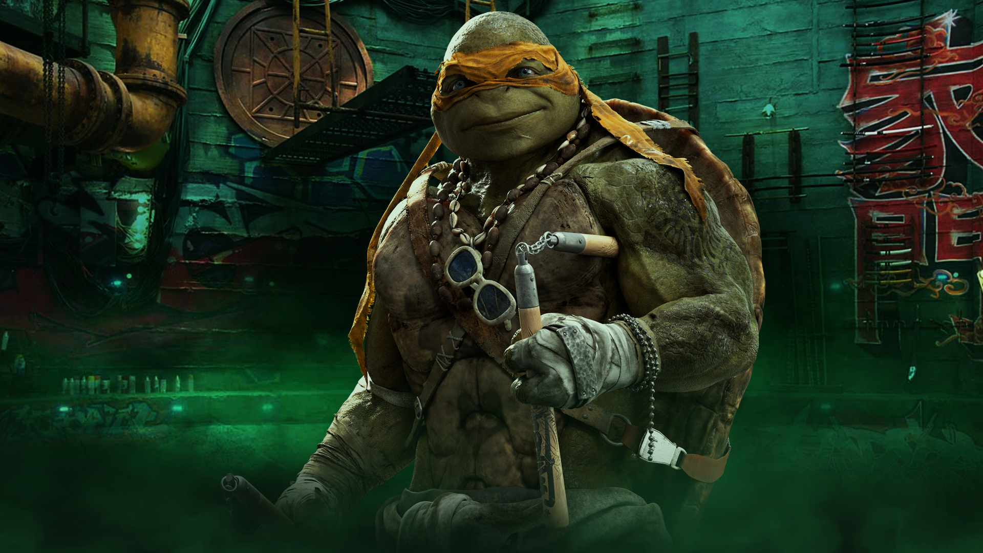 TMNT Michelangelo Wallpaper 1920x1080 by sachso74 on DeviantArt
