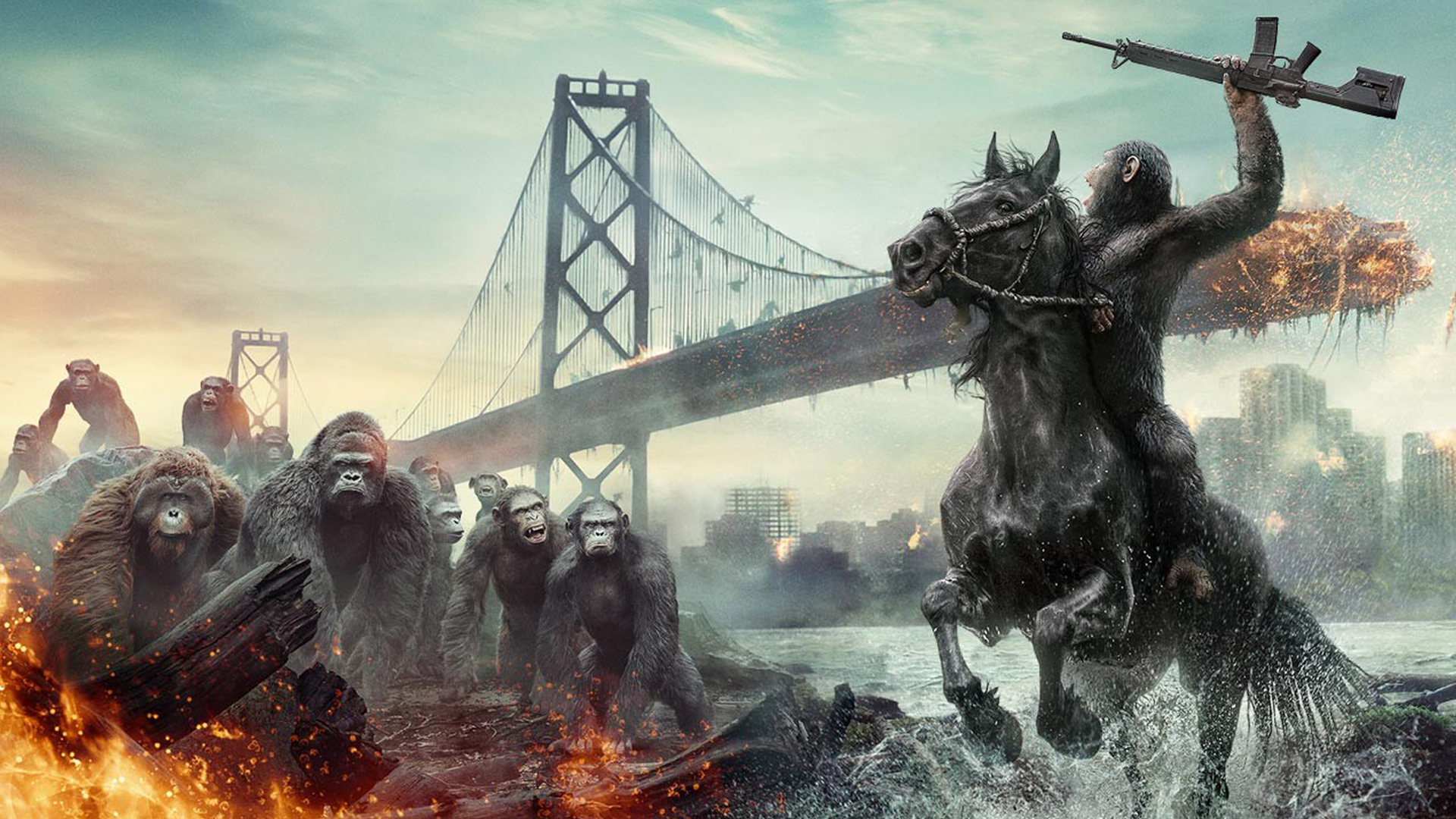 Dawn Of The Planet Of The Apes Wallpaper 1920x1080 By Sachso74 On