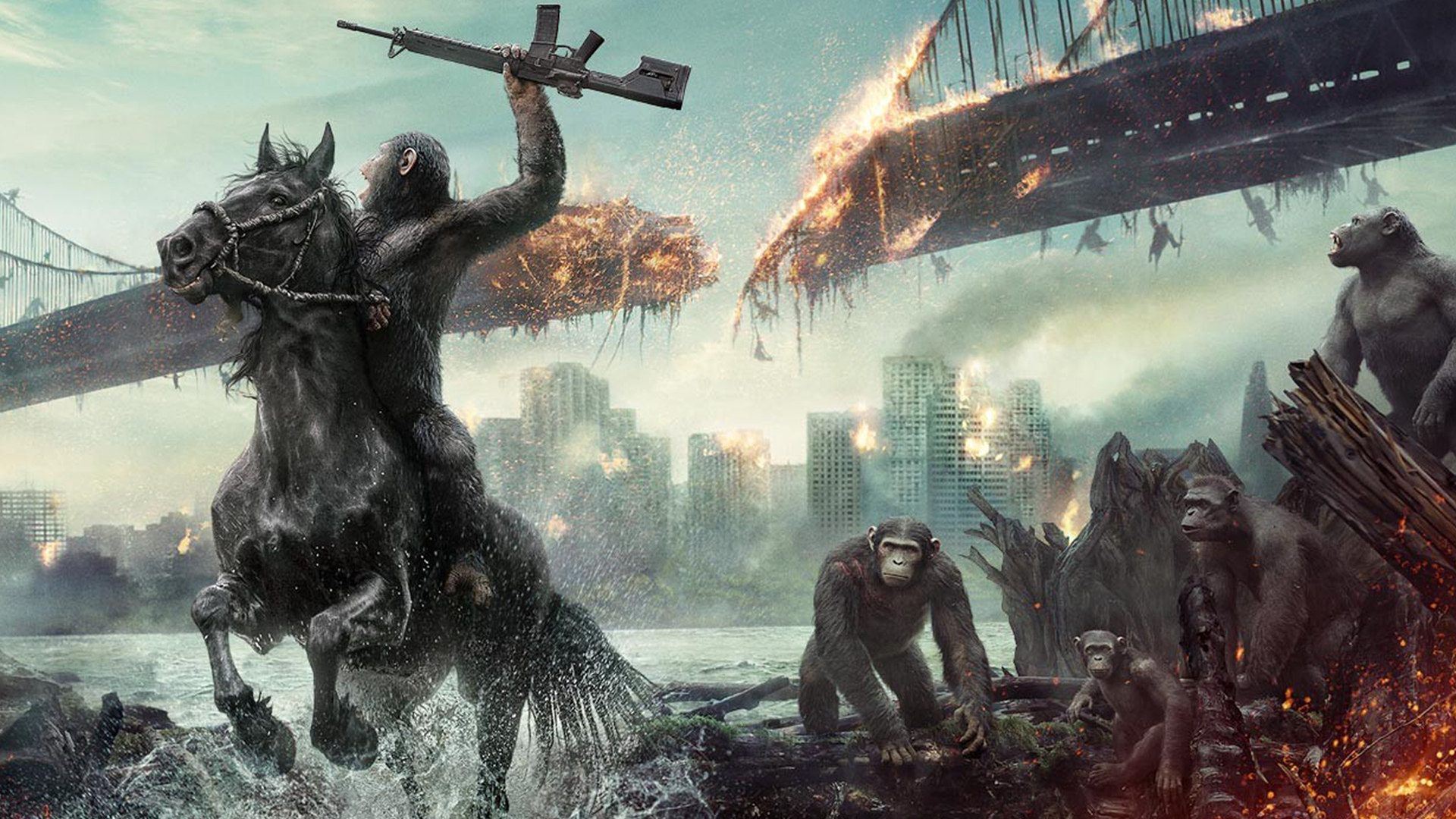 Planet Of The Apes Wallpaper: Dawn Of The Planet Of The Apes Wallpaper 1920x1080 By