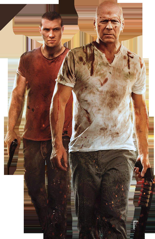 Bruce Willis Render A Good Day to Die Hard by sachso74 on ... Bruce Willis Die Hard