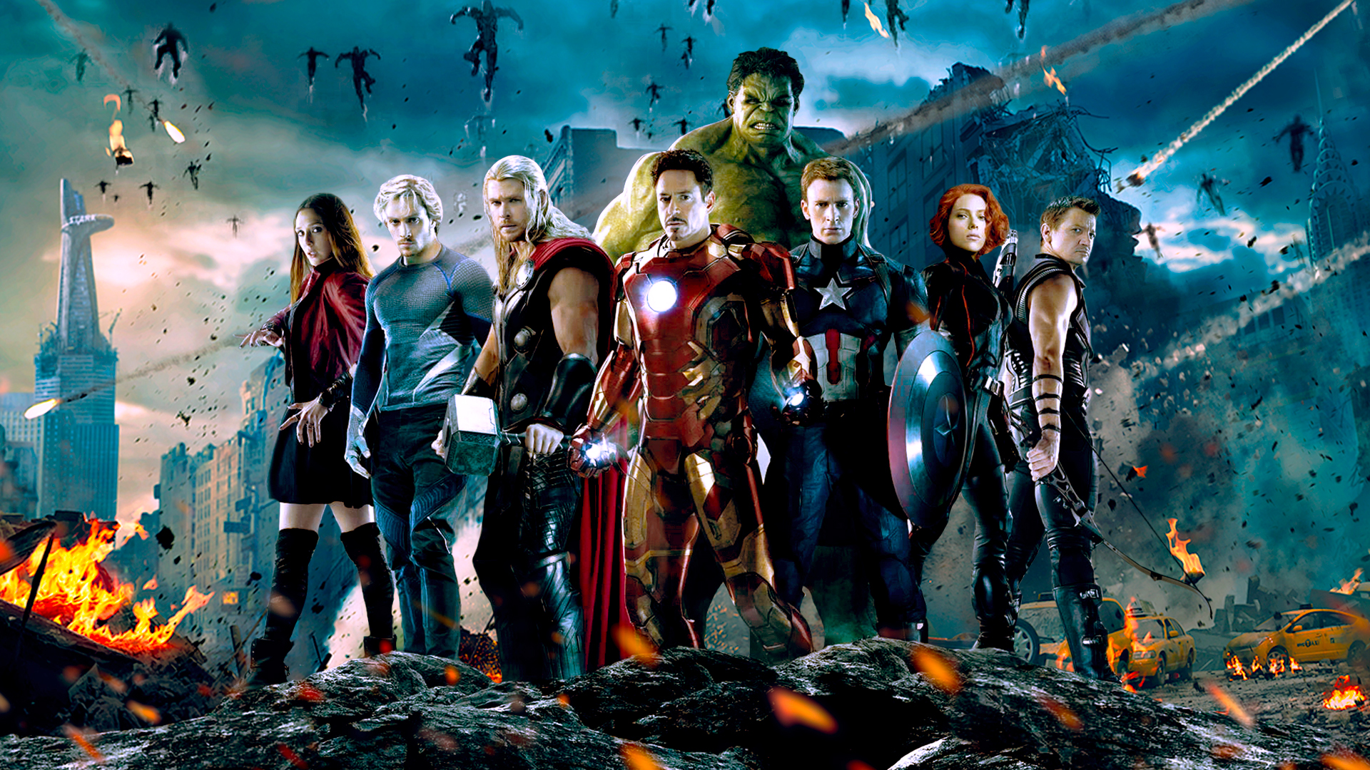Avengers Wallpaper 1920x1080 by - 2638.9KB