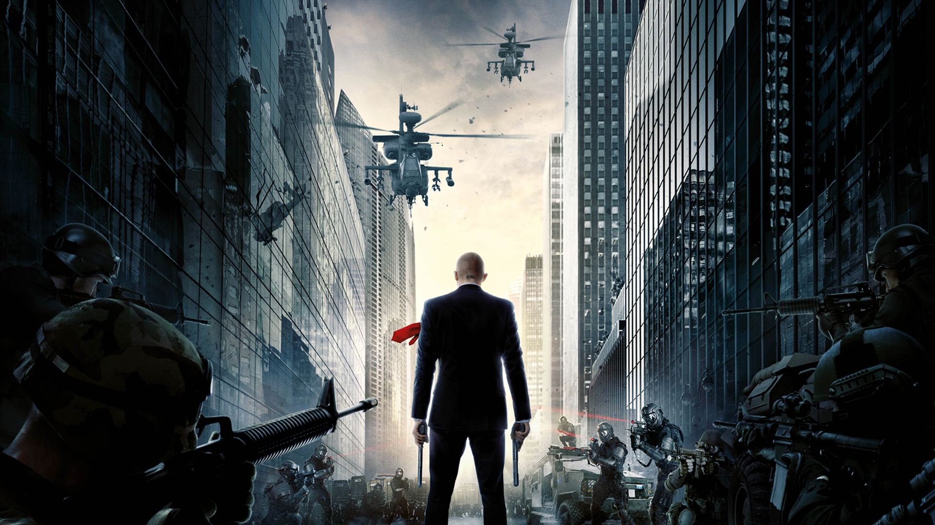 Hitman agent 47 wallpaper 1920x1080 by sachso74 on deviantart - Agent 47 wallpaper ...