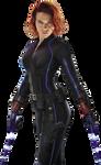 Black Widow Avengers Age of Ultron Render