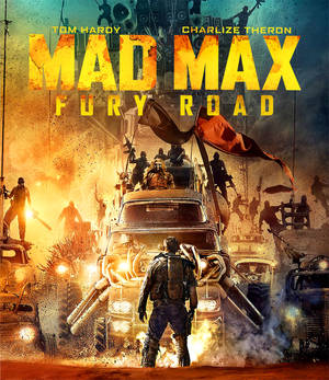 Mad Max Fury Road : Front Cover Blu Ray