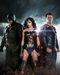 Batman v Superman Total Film Cover Textless