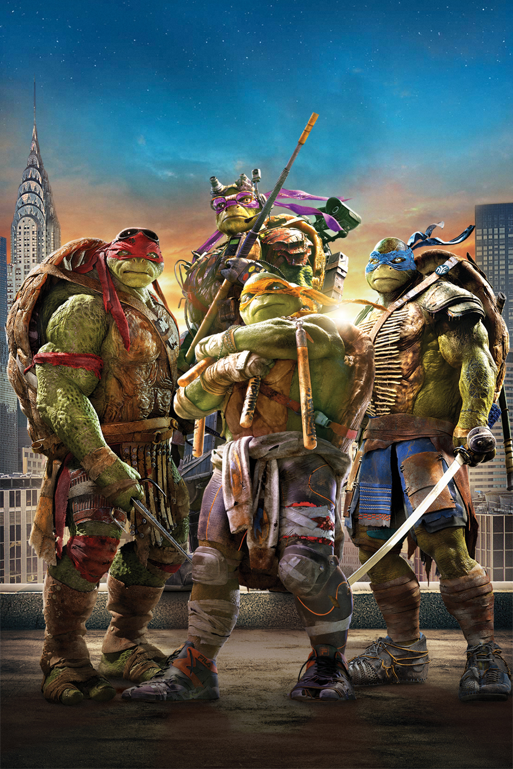 Teenage Mutant Ninja Turtles DVD Cover Textless by ...