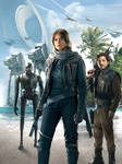 Rogue One: A Star Wars Story : EW Cover Custom